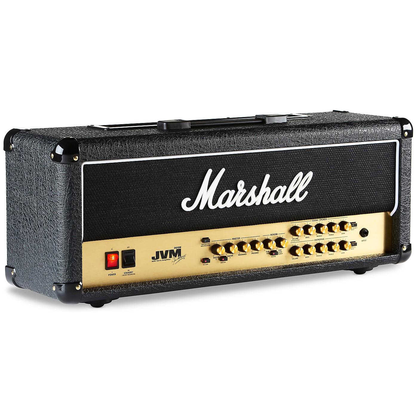 Marshall JVM Series JVM205H 50W Tube Guitar Amp Head thumbnail