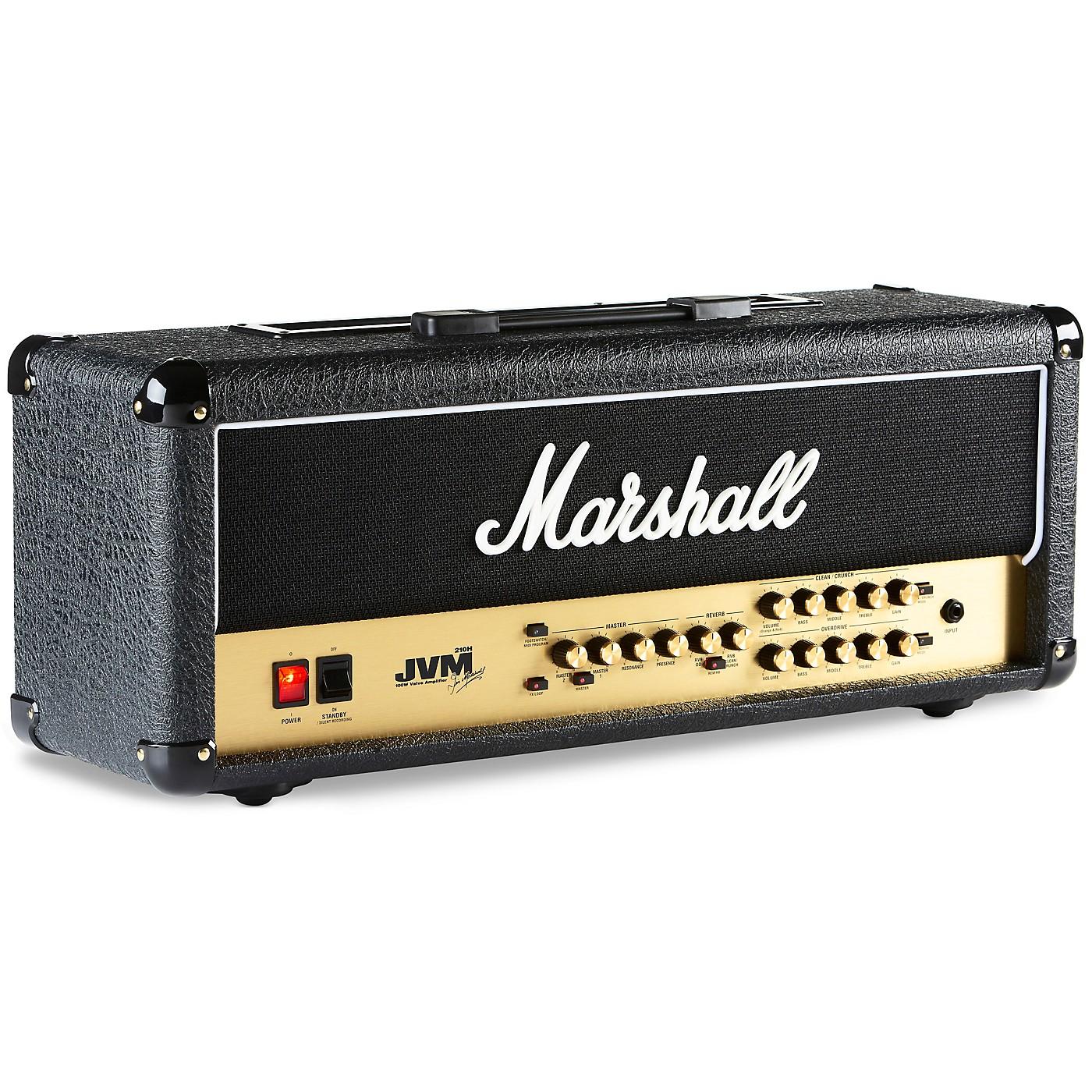 Marshall JVM Series JVM210H 100W Tube Guitar Amp Head thumbnail