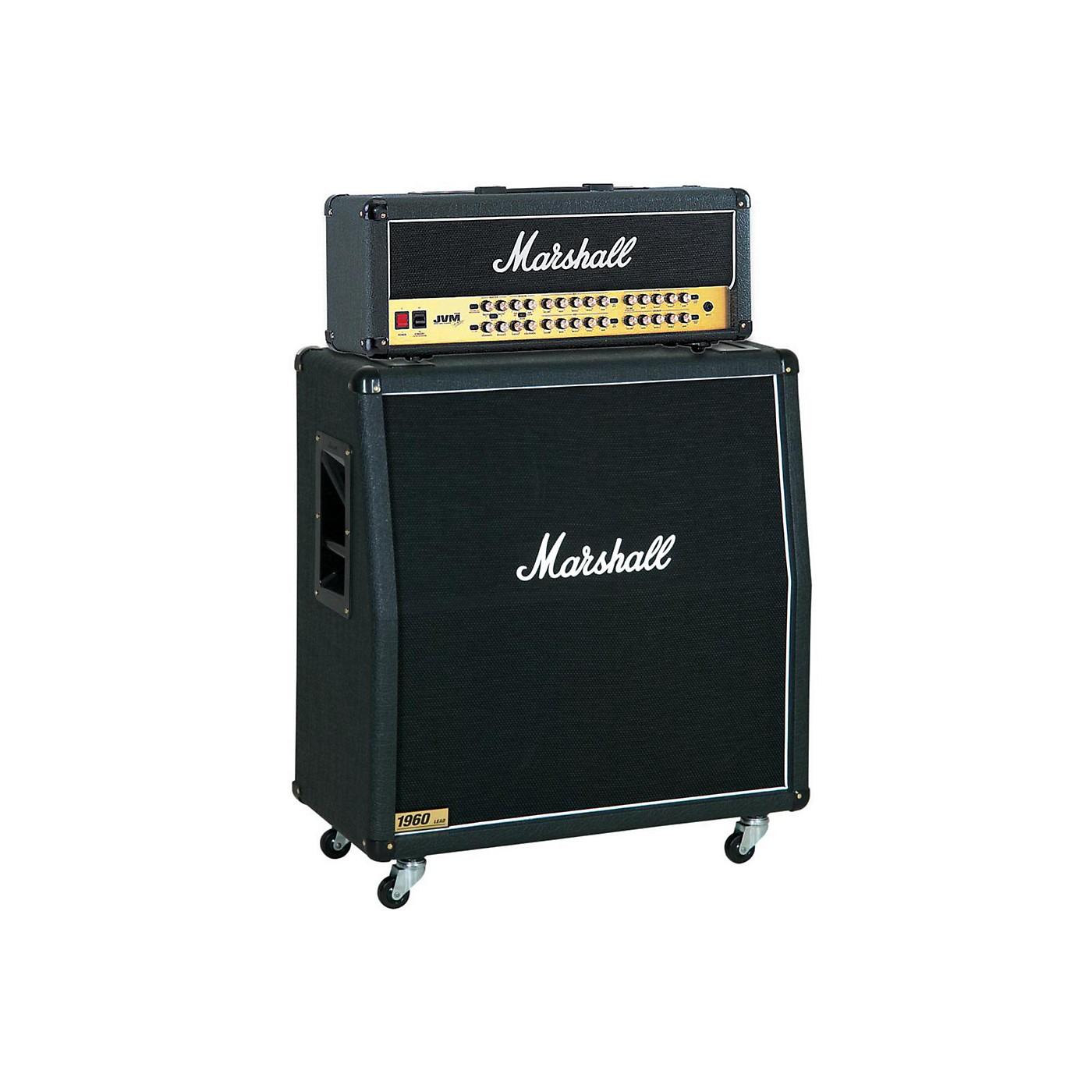 Marshall JVM Series JVM410H 100W Guitar Tube Head with 1960A 300W 4x12 Cab thumbnail
