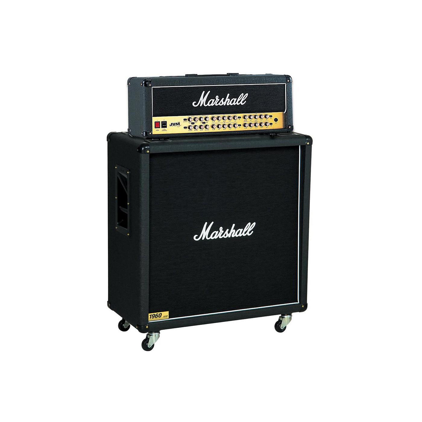 Marshall JVM Series JVM410H 100W Guitar Tube Head with 1960B 300W 4x12 Cab thumbnail