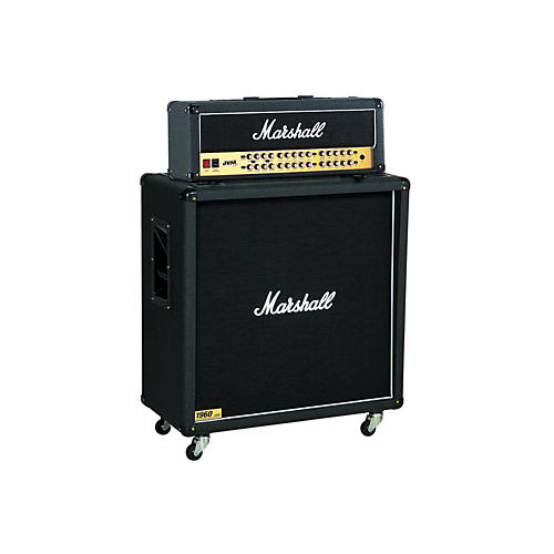 Marshall JVM Series JVM410H 100W Guitar Tube Head with 1960B 300W 4x12 Cab thumbnail