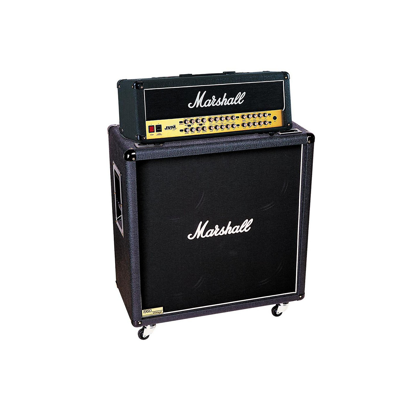 Marshall JVM Series JVM410H 100W Guitar Tube Head with 1960BV 280W 4x12 Cab thumbnail