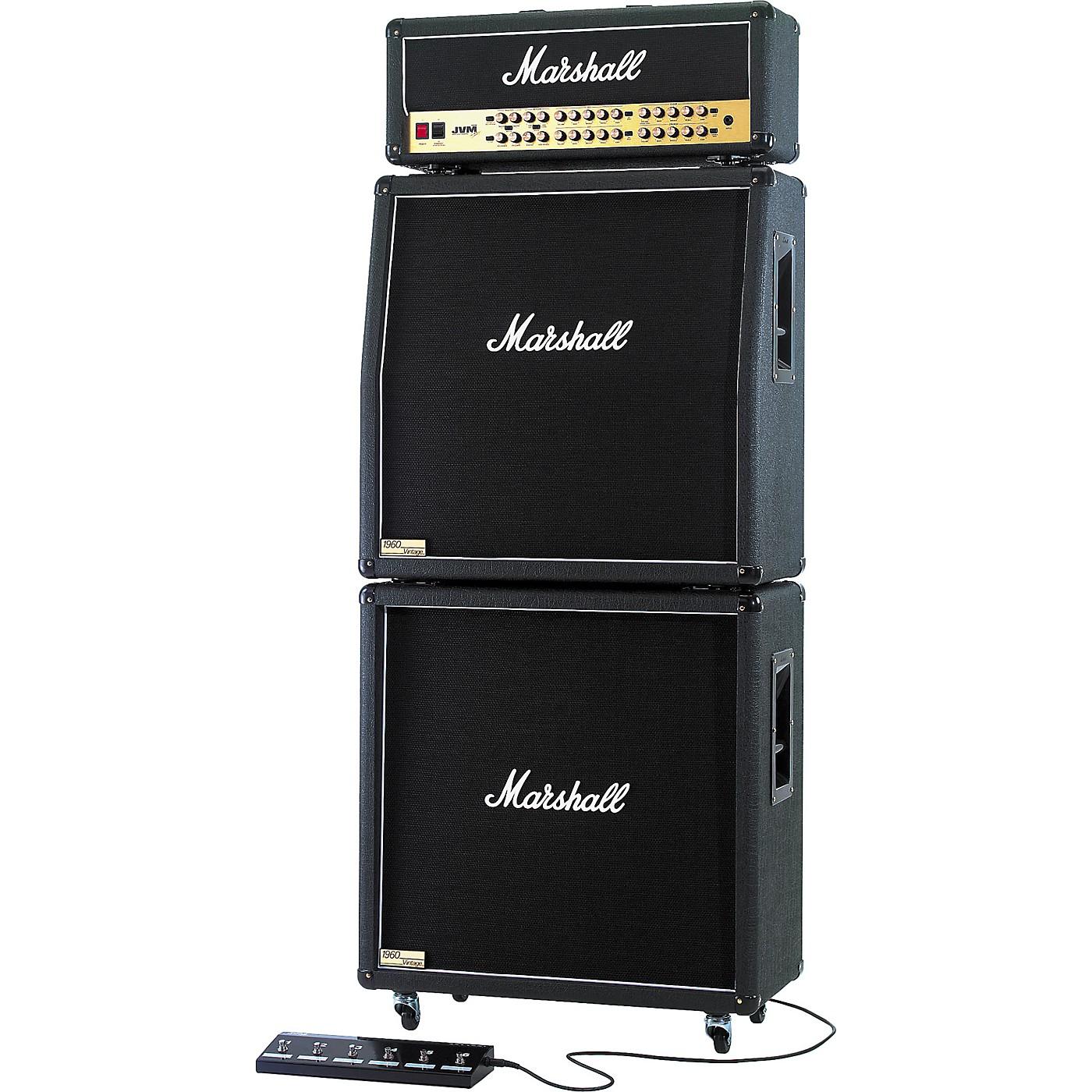 Marshall JVM410H, 1960AV, and 1960BV Tube Guitar Full Stack thumbnail