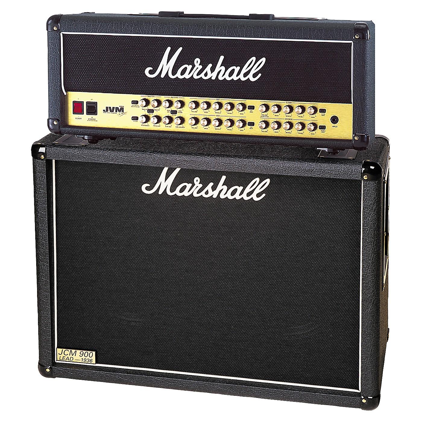 Marshall JVM410H and 1936 2x12 Tube Guitar Half Stack thumbnail