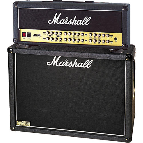 Marshall JVM410H and 1936 2x12 Tube Guitar Half Stack-thumbnail