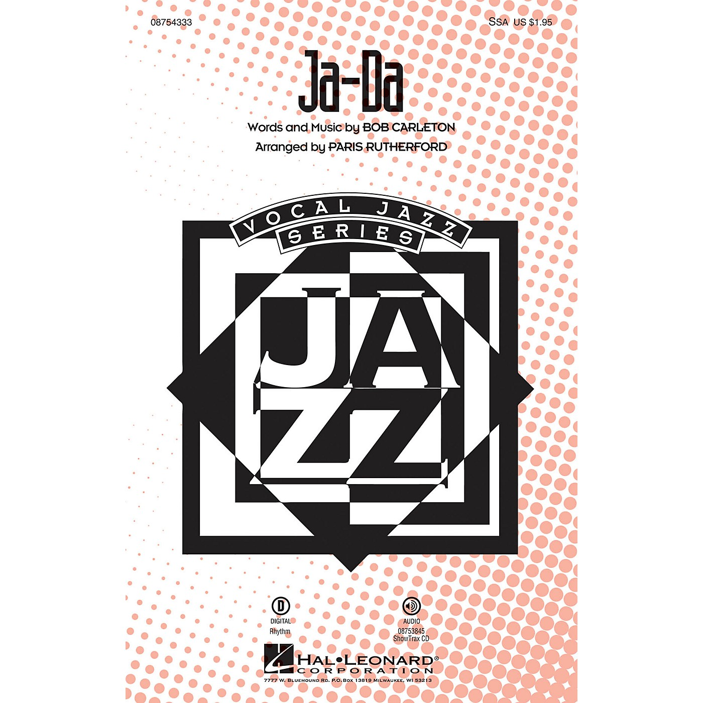 Hal Leonard Ja-Da SSA arranged by Paris Rutherford thumbnail