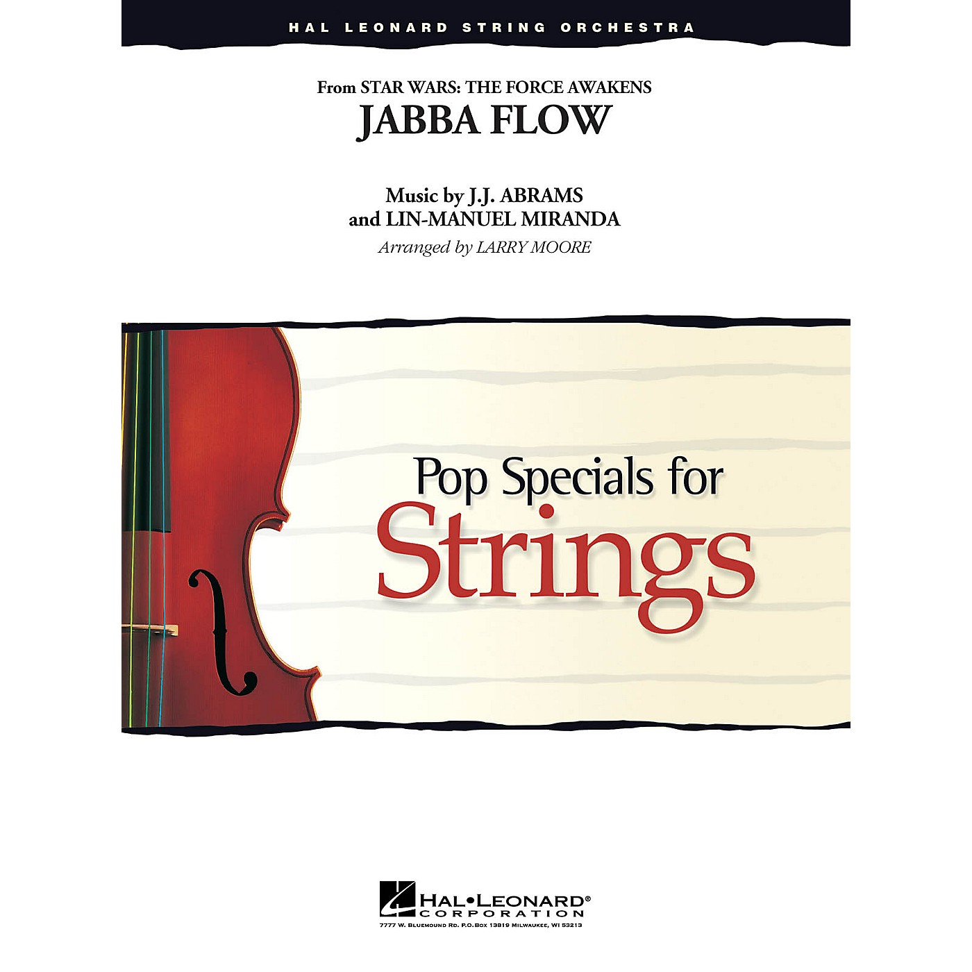 Hal Leonard Jabba Flow Easy Pop Specials For Strings Series Softcover Arranged by Larry Moore thumbnail