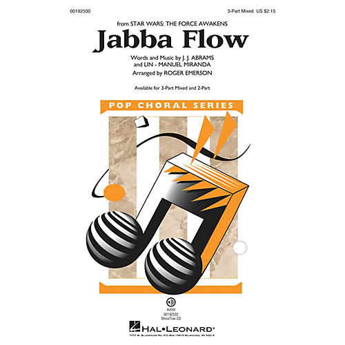 Hal Leonard Jabba Flow (from Star Wars: The Force Awakens) 3-Part Mixed arranged by Roger Emerson thumbnail