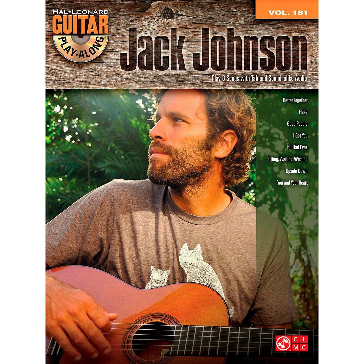 Cherry Lane Jack Johnson - Guitar Play-Along Volume 181 Book/CD thumbnail