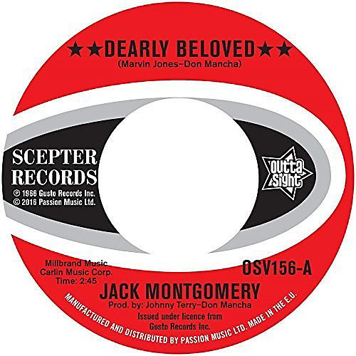 Alliance Jack Montgomery - Dearly Beloved / Do You Believe It thumbnail
