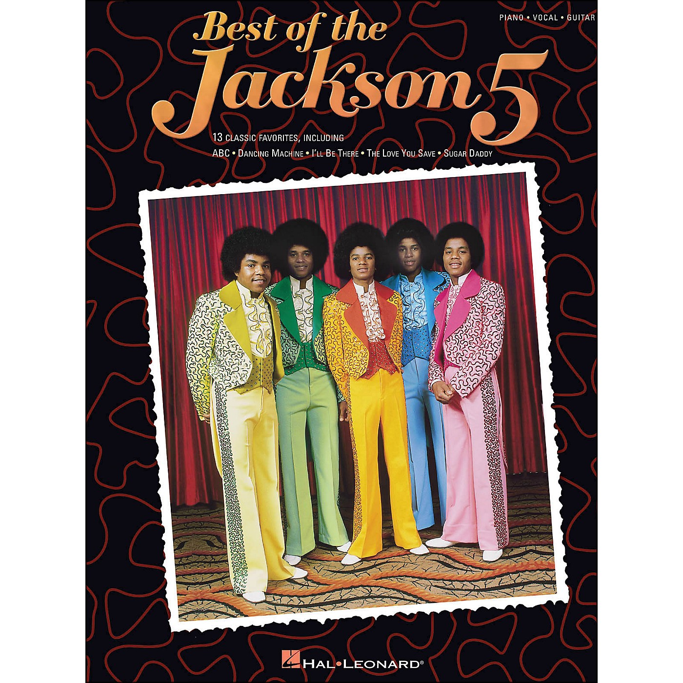 Hal Leonard Jackson 5, Best Of arranged for piano, vocal, and guitar (P/V/G) thumbnail