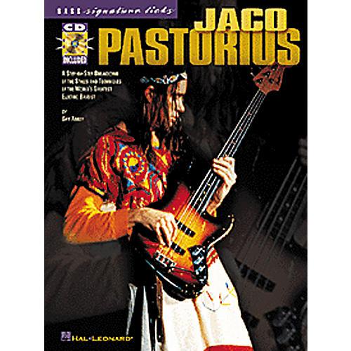 Hal Leonard Jaco Pastorius Bass Signature Licks Book with CD-thumbnail