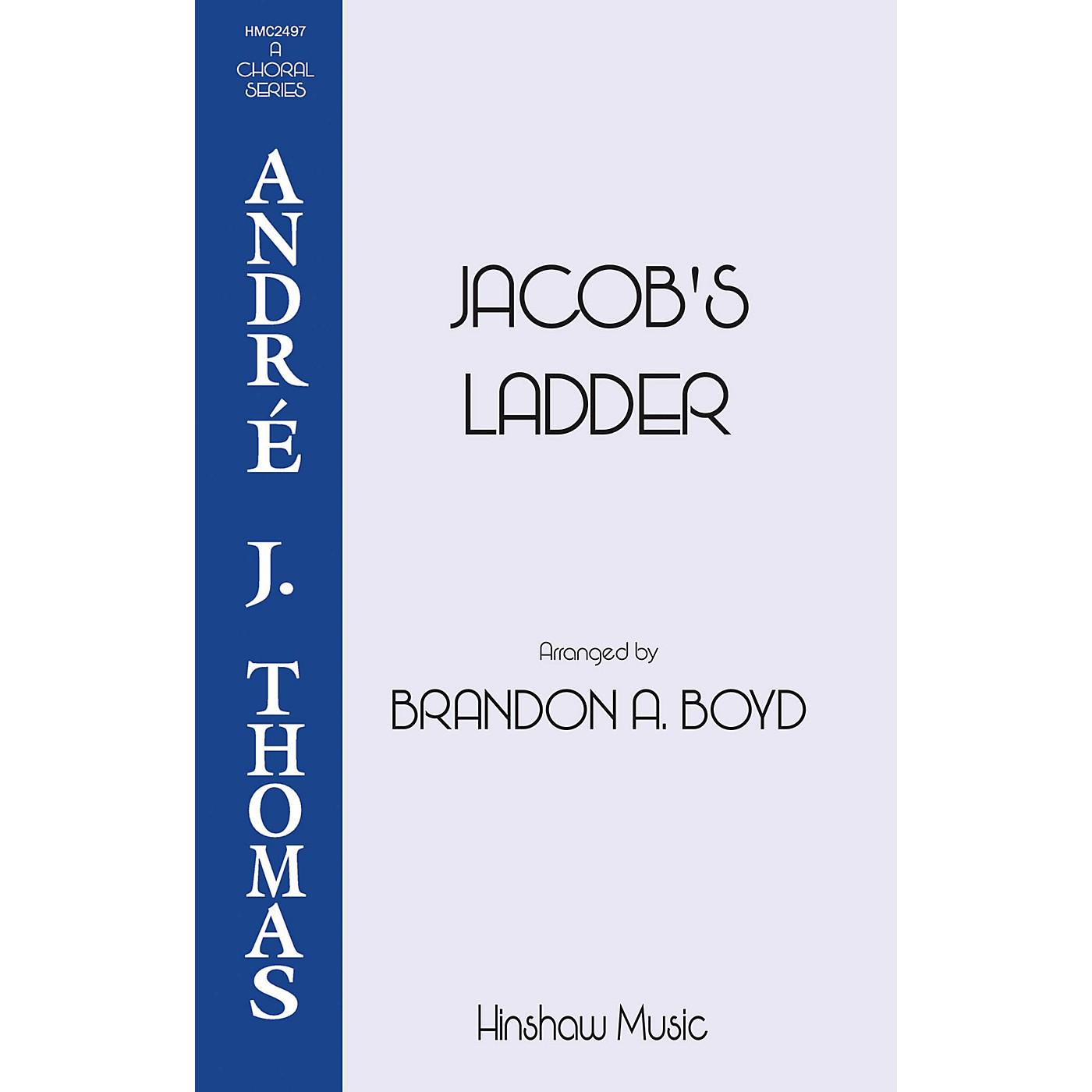 Hinshaw Music Jacob's Ladder SATB arranged by Brandon Boyd thumbnail