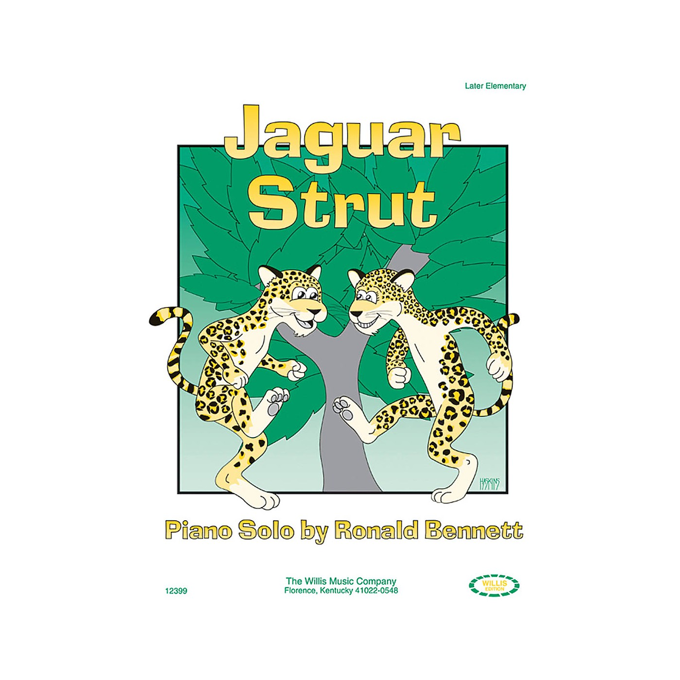 Willis Music Jaguar Strut (Later Elem Level) Willis Series by Ronald Bennett thumbnail