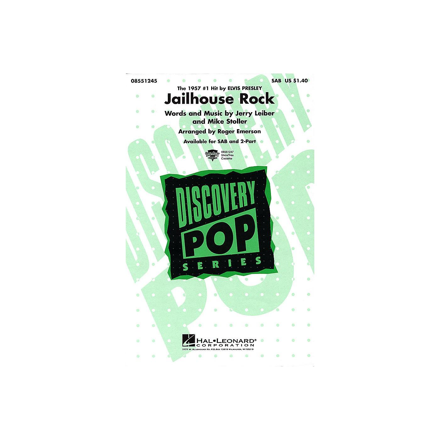 Hal Leonard Jailhouse Rock SAB by Elvis Presley arranged by Roger Emerson thumbnail