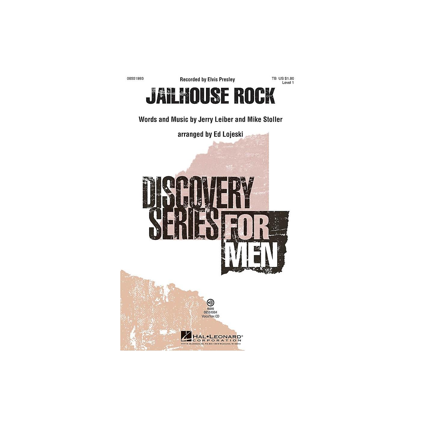Hal Leonard Jailhouse Rock VoiceTrax CD Arranged by Ed Lojeski thumbnail