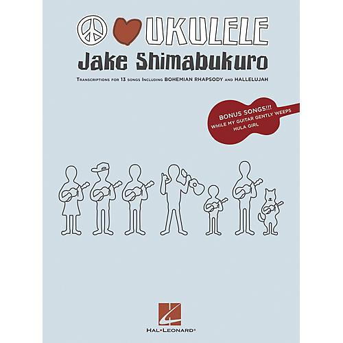 Hal Leonard Jake Shimabukuro - Peace Love Ukulele Songbook thumbnail