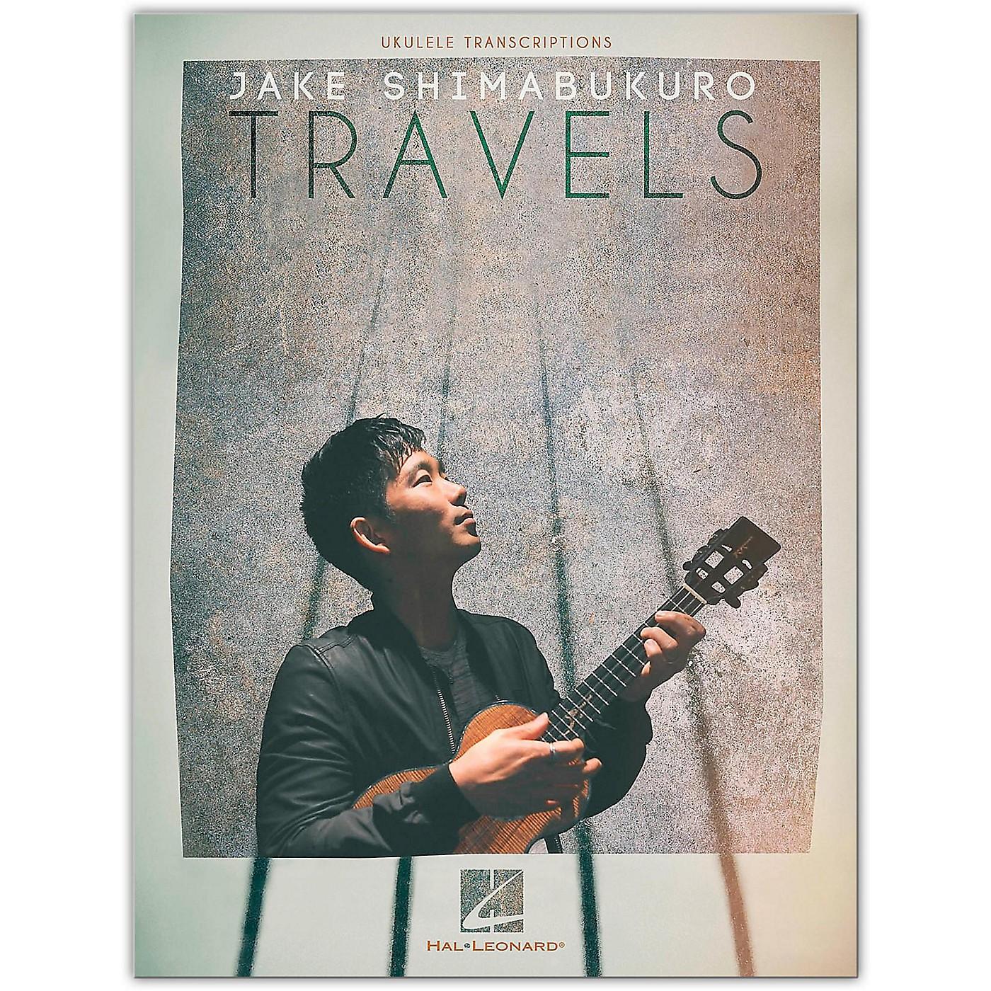 Hal Leonard Jake Shimabukuro - Travels Ukulele Songbook thumbnail