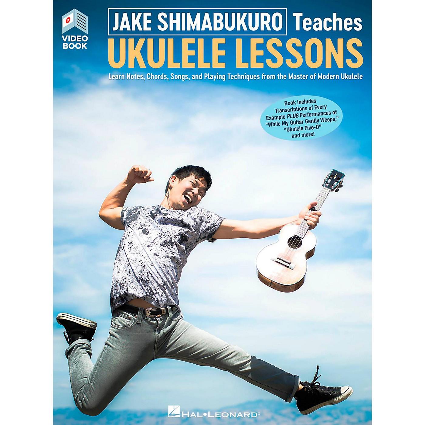 Hal Leonard Jake Shimabukuro Teaches Ukulele Lessons (Video/Book) thumbnail