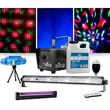 CHAUVET DJ Jam Pack Emerald with VEI Mini Laser, Party Bulb and Blacklight Lighting Package