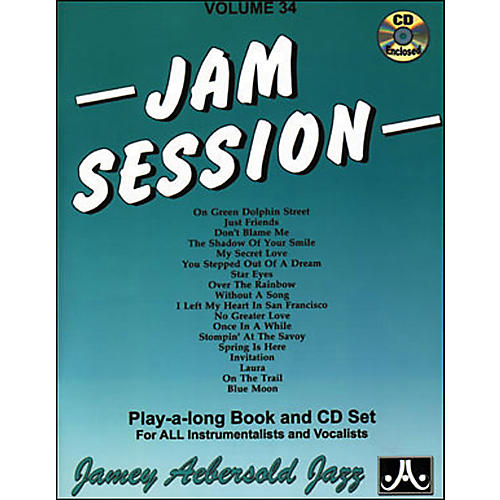 Jamey Aebersold Jam Session Book and CD-thumbnail