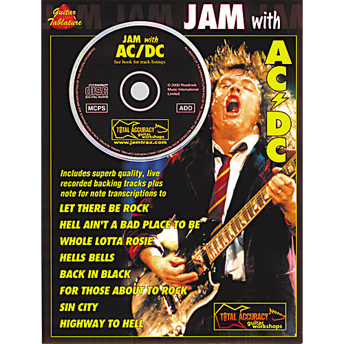 Music Sales Jam with AC/DC Guitar Tab Songbook with CD thumbnail