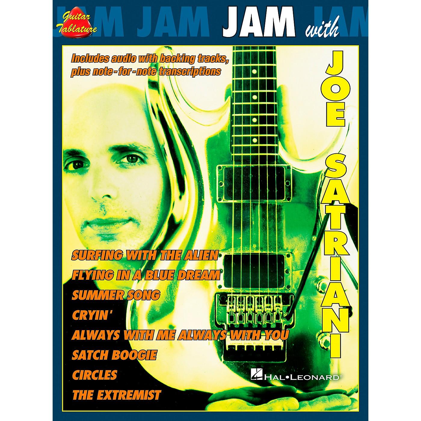 Cherry Lane Jam with Joe Satriani Book with CD thumbnail