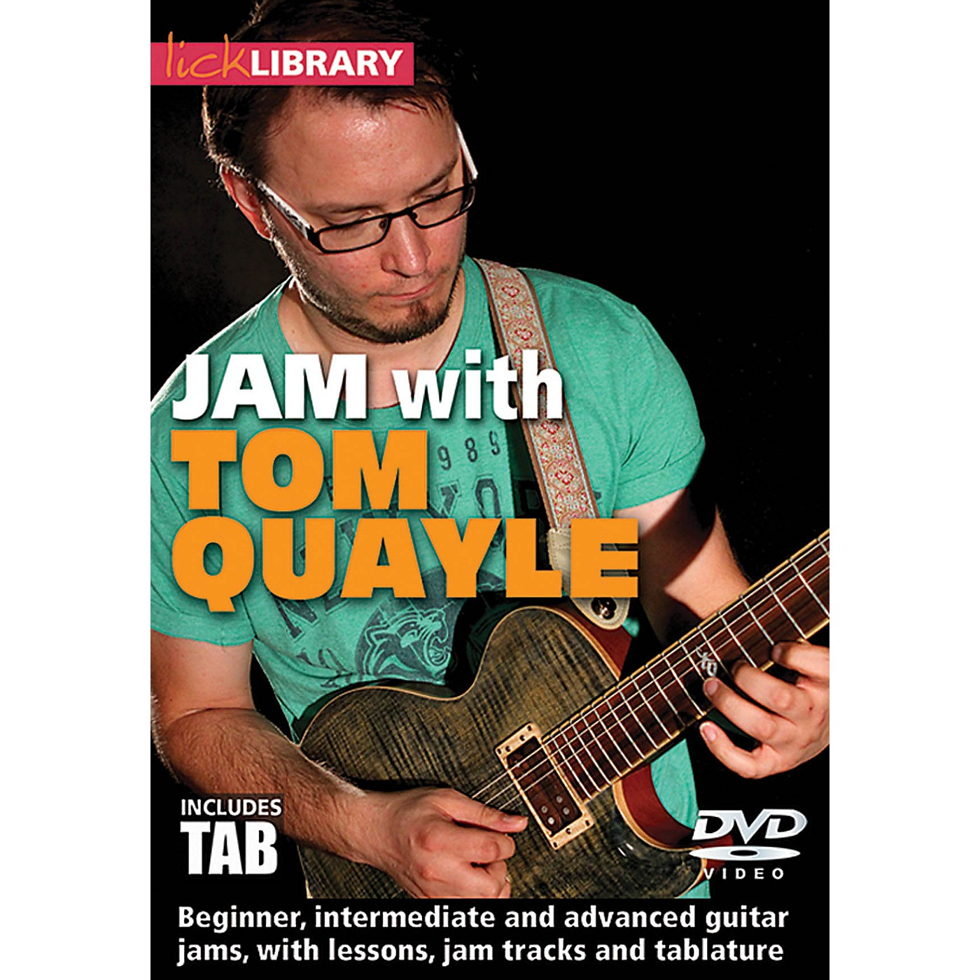 Licklibrary Jam with Tom Quayle Lick Library Series DVD Performed by Tom Quayle thumbnail