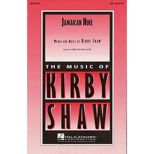 Hal Leonard Jamaican Noel (He's a Tiny Little Baby) 3-Part Mixed Composed by Kirby Shaw thumbnail
