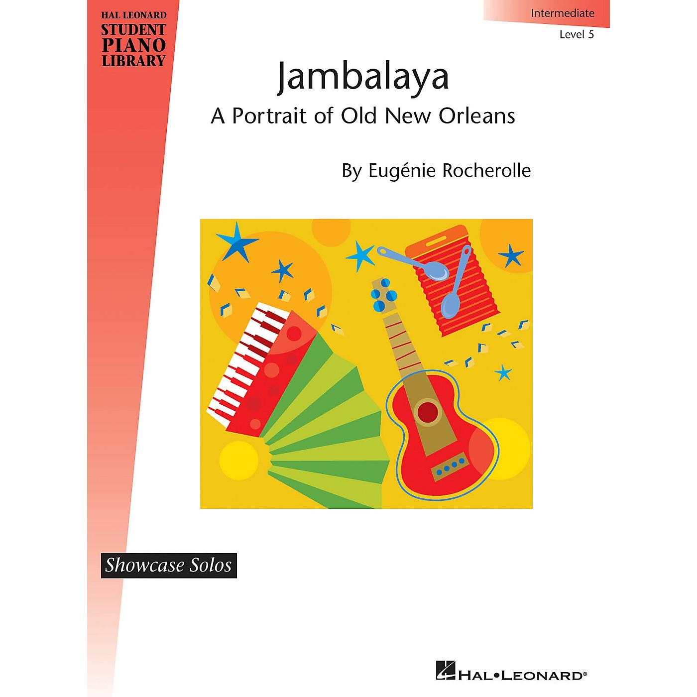 Hal Leonard Jambalaya Piano Library Series by Eugénie Rocherolle (Level Inter) thumbnail