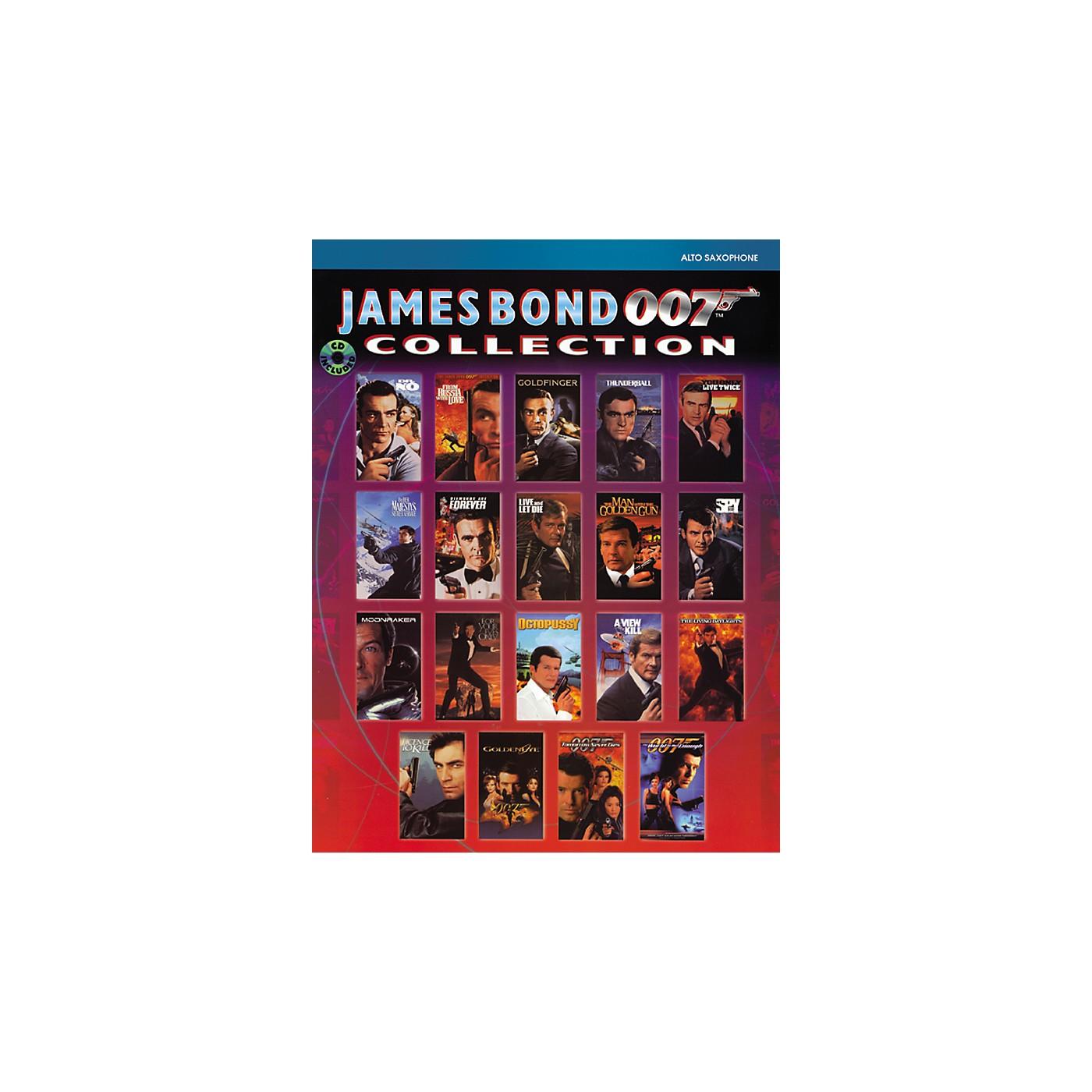 Alfred James Bond 007 Collection Alto Sax Book & CD thumbnail