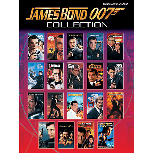 Alfred James Bond 007 Collection Piano/Vocal/Chords thumbnail
