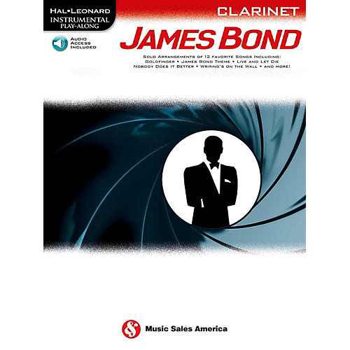 Music Sales James Bond For Clarinet - Instrumental Play-Along Book/Online Audio thumbnail