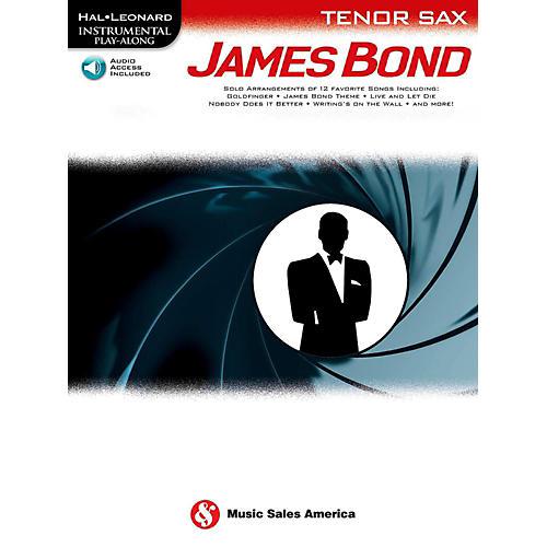 Music Sales James Bond For Tenor Sax - Instrumental Play-Along Book/Online Audio thumbnail