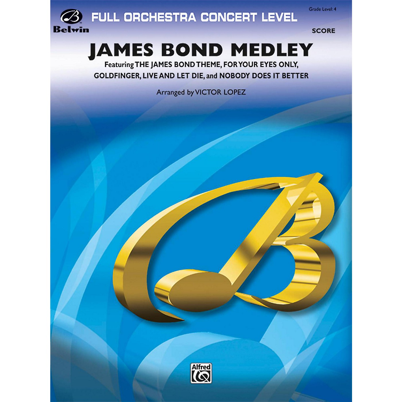 BELWIN James Bond Medley Grade 4 thumbnail