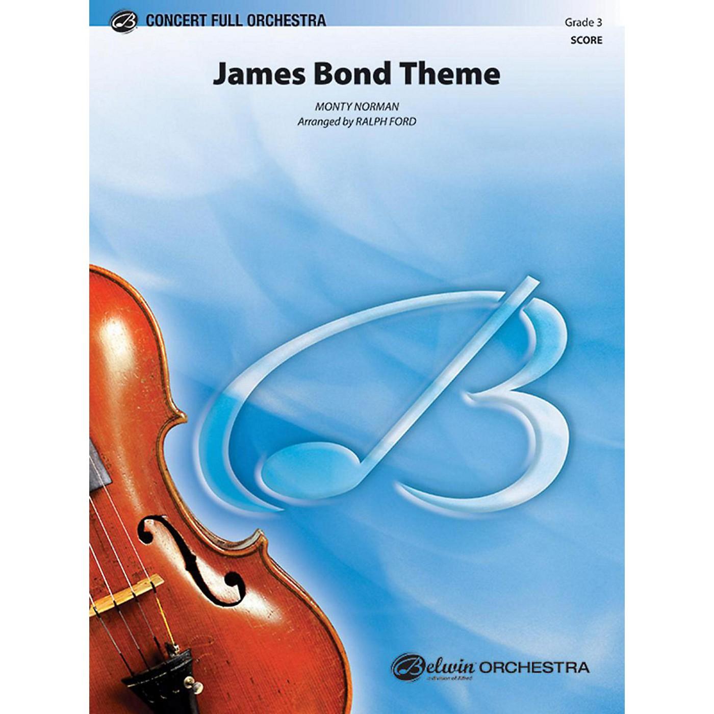 Alfred James Bond Theme Full Orchestra Grade 3 thumbnail