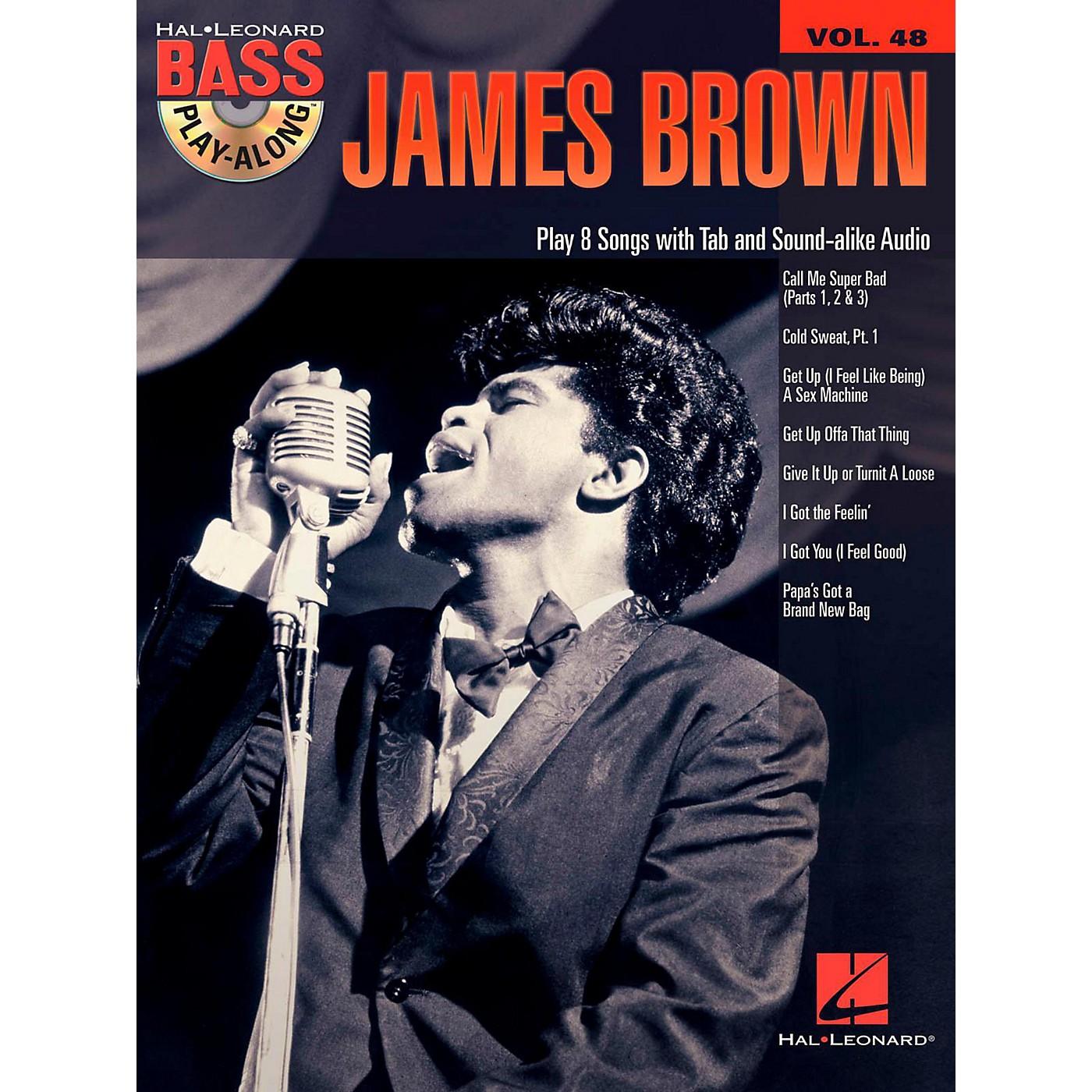 Hal Leonard James Brown - Bass Play-Along Volume 48 Book/CD thumbnail