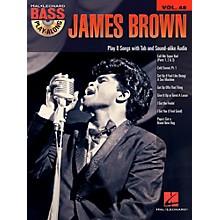 Hal Leonard James Brown - Bass Play-Along Volume 48 Book/CD