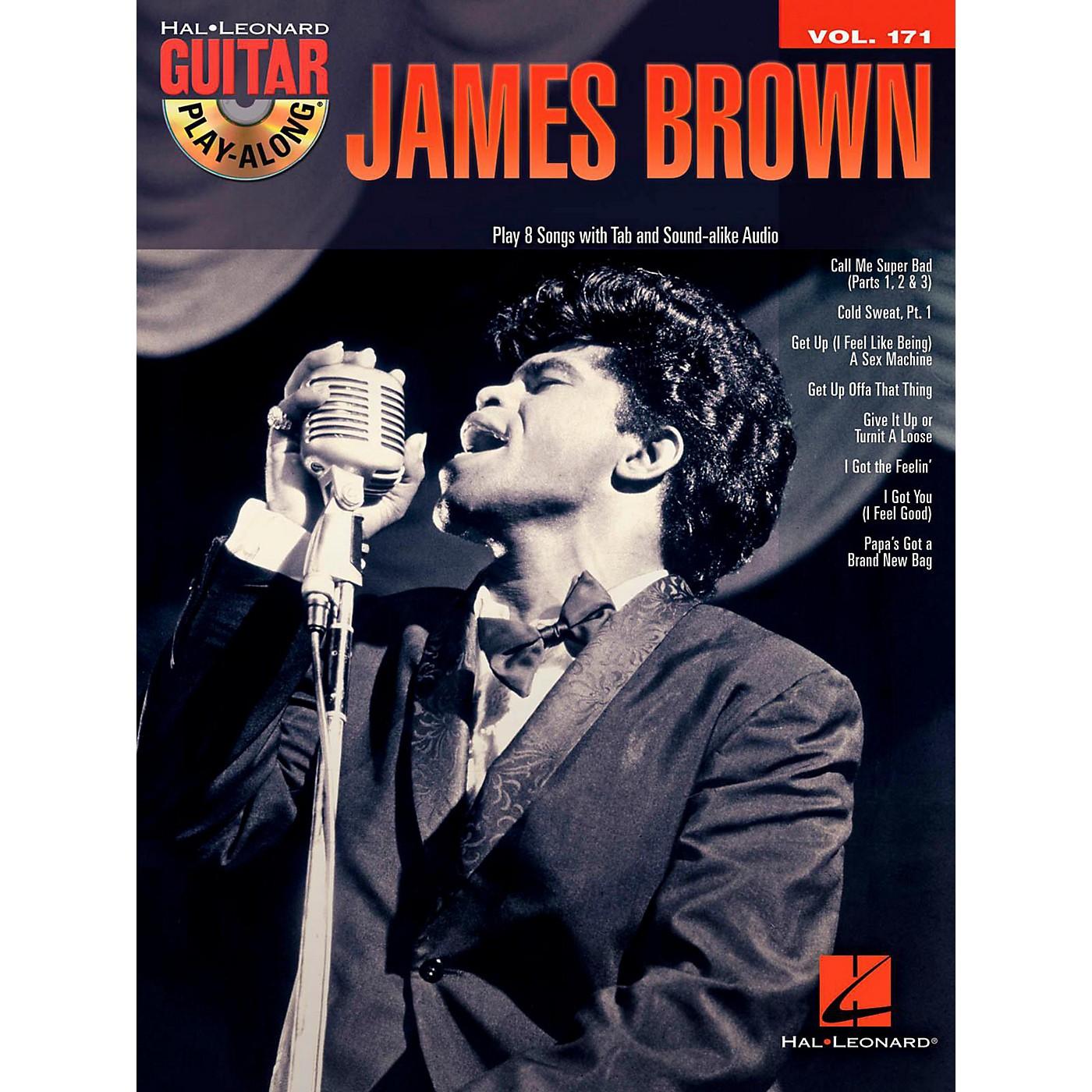 Hal Leonard James Brown - Guitar Play-Along Vol. 171 Book/CD thumbnail