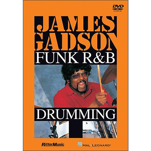Hal Leonard James Gadson - Funk/R&B Drumming DVD thumbnail