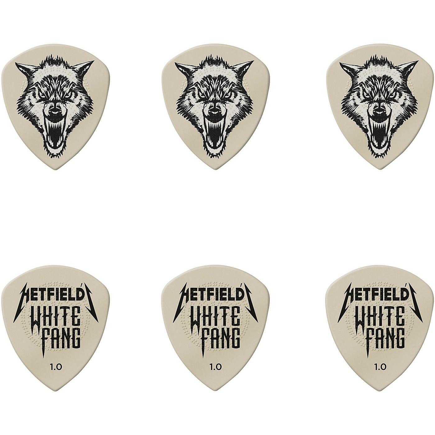 Dunlop James Hetfield Signature White Fang Guitar Picks and Tin thumbnail