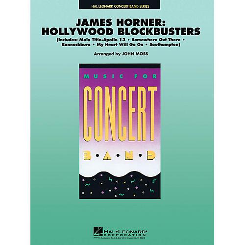 Hal Leonard James Horner - Hollywood Blockbusters Concert Band Level 4-5 Arranged by John Moss thumbnail
