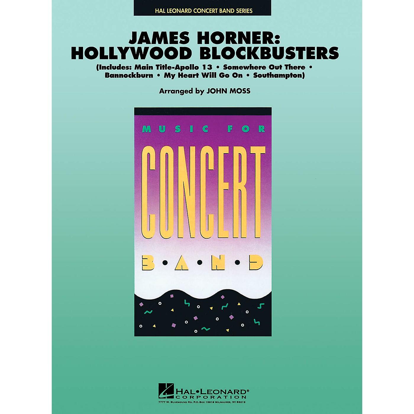 Hal Leonard James Horner: Hollywood Blockbusters Full Score Concert Band thumbnail
