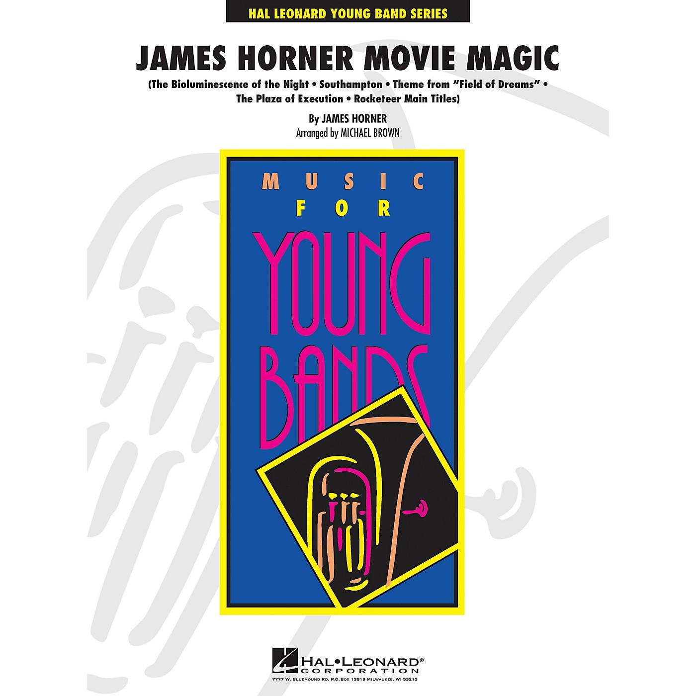 Hal Leonard James Horner Movie Magic - Young Band Series Level 3 thumbnail