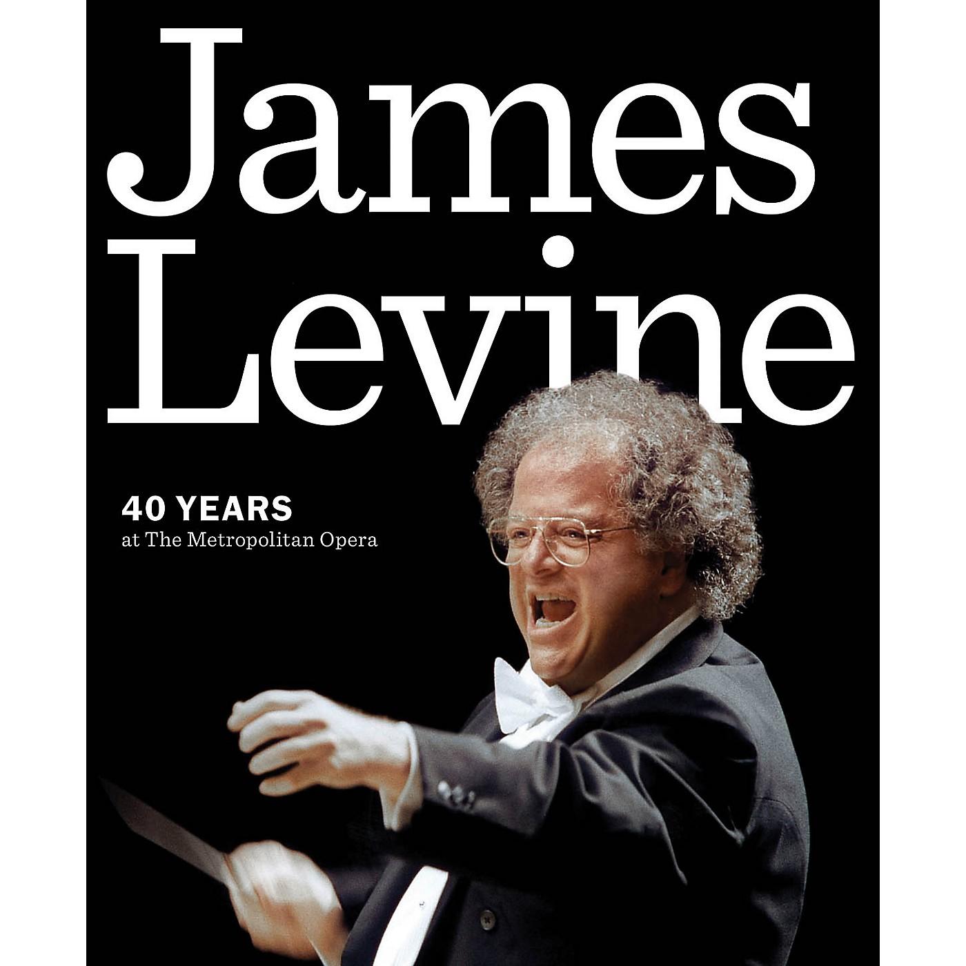 Amadeus Press James Levine (40 Years at the Metropolitan Opera) Amadeus Series Softcover Written by Metropolitan Opera thumbnail