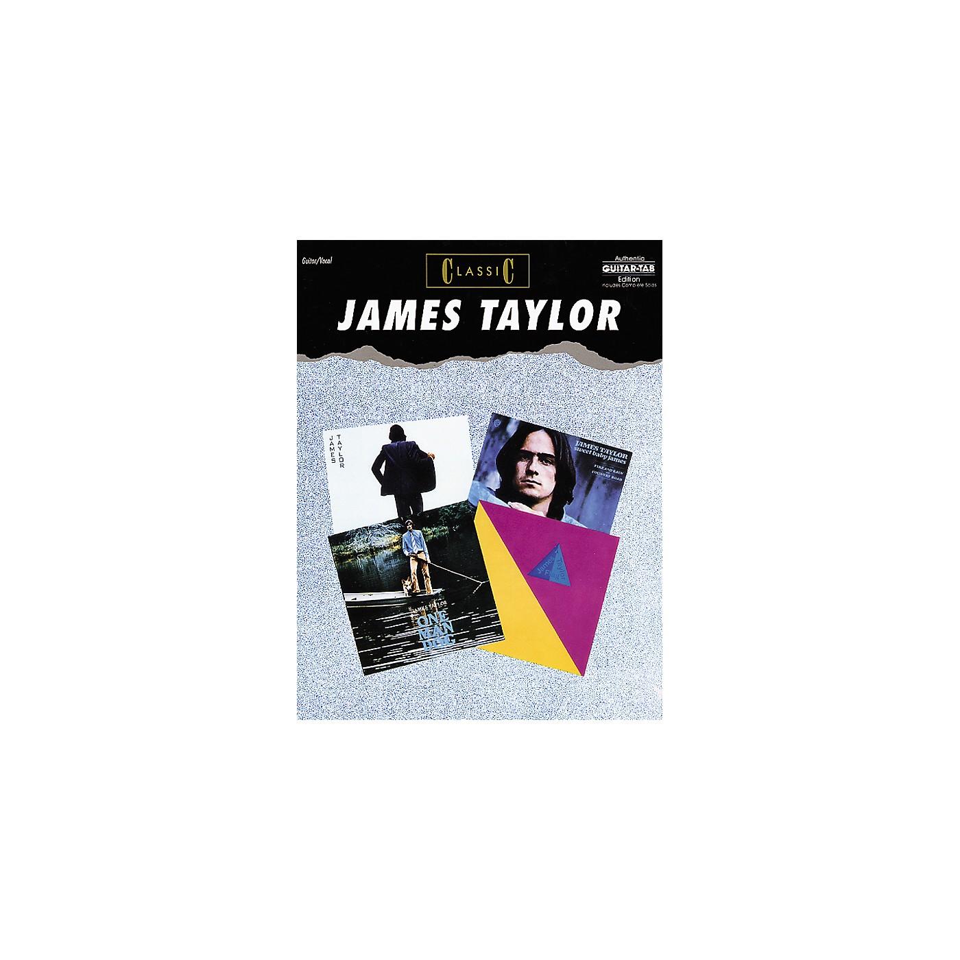 Alfred James Taylor Classic Guitar Tab Songbook thumbnail