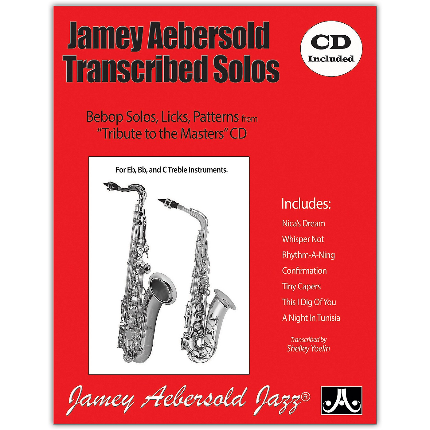 Jamey Aebersold Jamey Aebersold Transcribed Solos (Book/CD) thumbnail