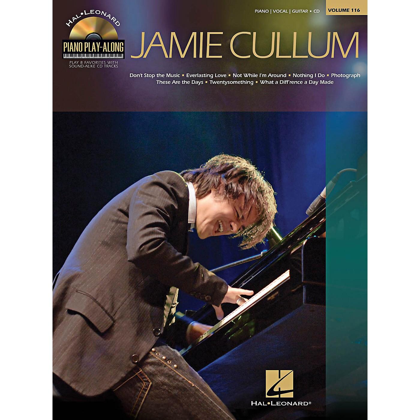 Hal Leonard Jamie Cullum - Piano Play-Along Series Volume 116 Book/CD thumbnail