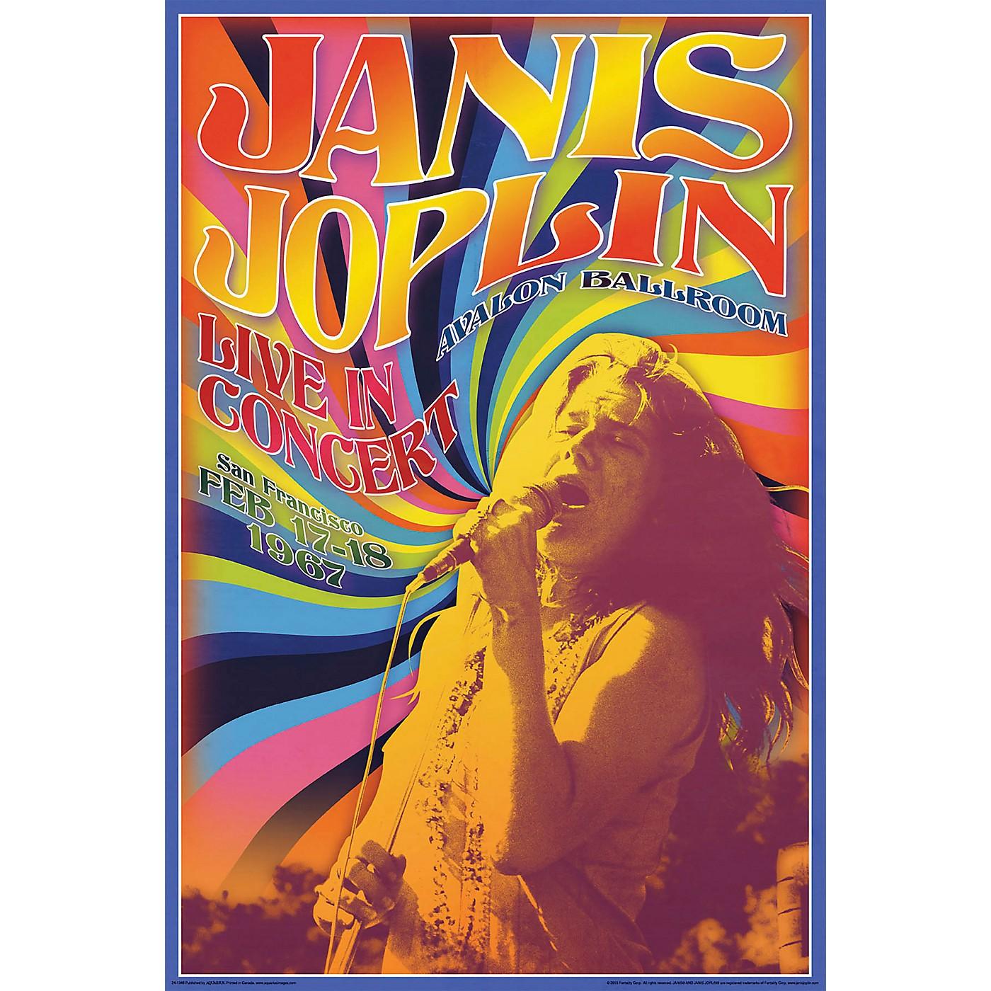 Hal Leonard Janis Joplin Concert - Wall Poster thumbnail