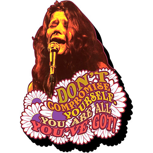 Entertainment Earth Janis Joplin Don't Compromise Yourself Funky Chunky Magnet thumbnail